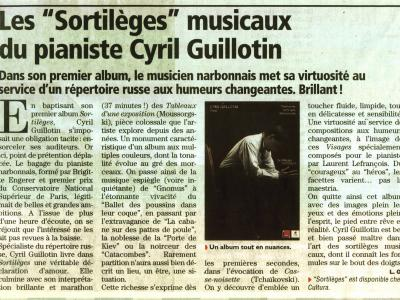 "Critique de ""Sortilèges"""