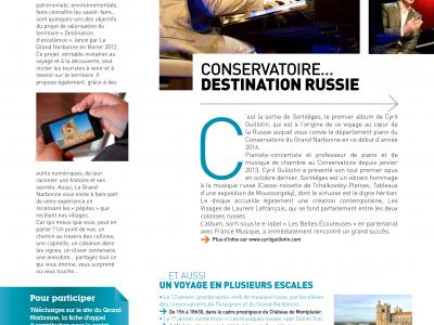 Magazine communautaire du Grand Narbonne